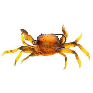 Orange-Fishing-Tackle-Lure-Soft-3D-Crab-Simulation-Saltwater-Fish-Hook-Bait
