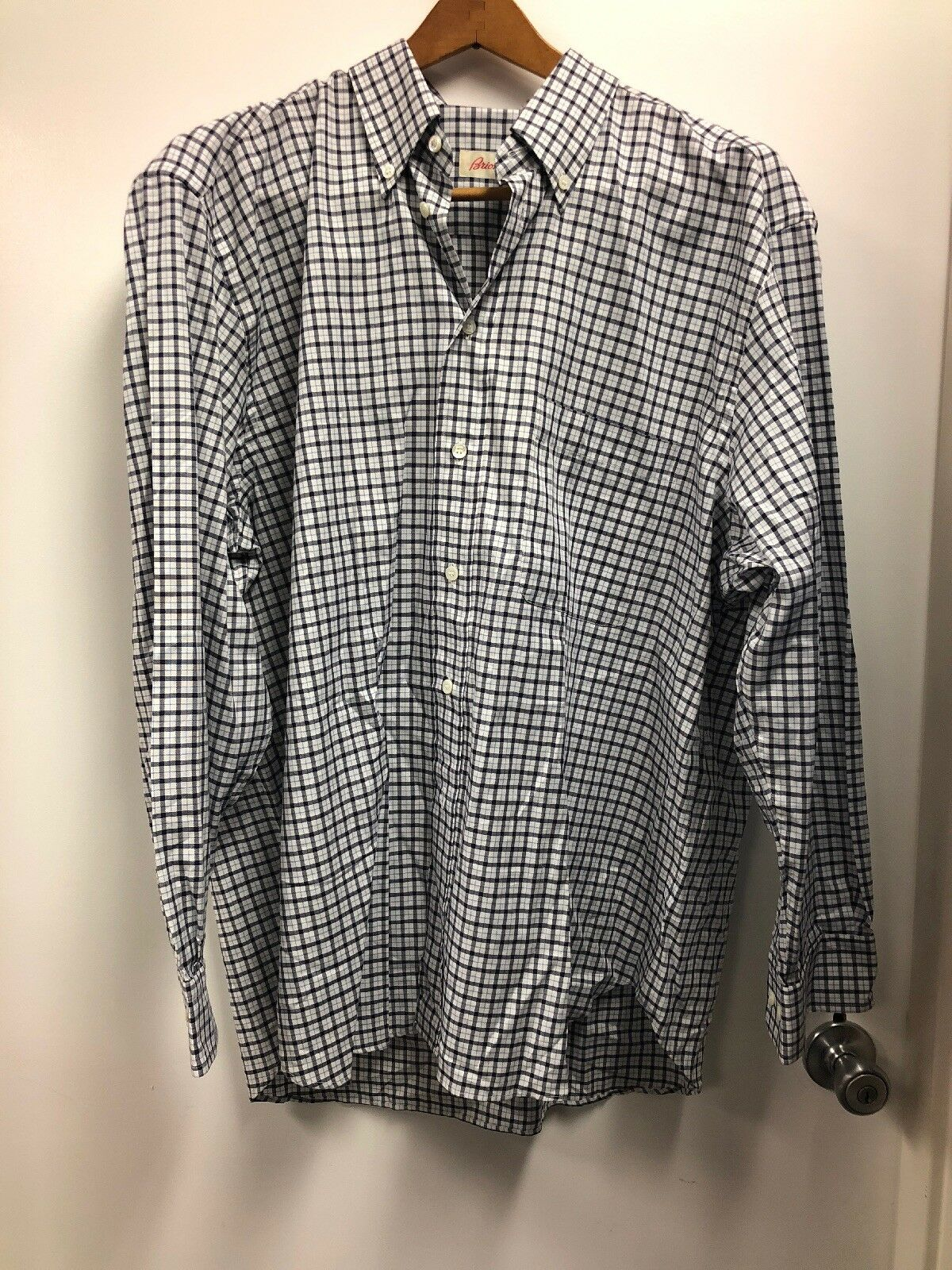 NWT  Brioni Mens Dress Shirt Size XL
