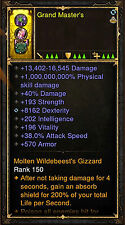 Diablo 3 RoS PS4 [HARDCORE] Patch 2.5 Modded Ring - 1,000,000,000% Damage!