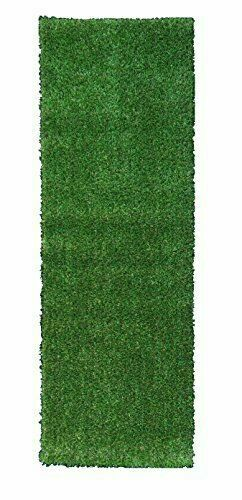 Ottomanson Evergreen Collection Indoor Outdoor Green Artificial Grass Turf Solid For Sale Online Ebay