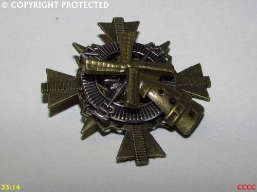 Steampunk Insignia Broche Pin Bronce brújula Molino Países Bajos holandesa