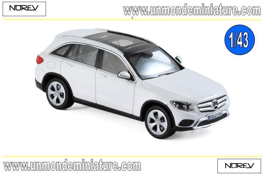 Mercedes-Benz GLC 2015 blanc NOREV - NO 351337 - Echelle 1 43