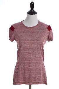 à Condition De Mizuno Alpha à Manches Courtes Drylite Réfléchissant Athletic Shirt Pour Femme Rouge Vif-afficher Le Titre D'origine