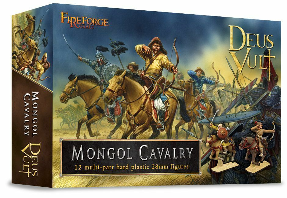 Mongol Cavalry Fireforge Games Deus Vult Mongols Horde Medieval Middle Ages