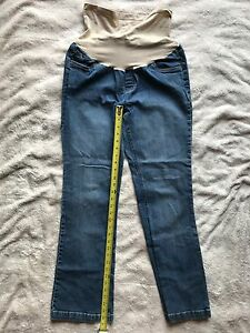 1b25b7957efec Image is loading Oh-Baby-By-Motherhood-Maternity-Blue-Jeans-Boot-