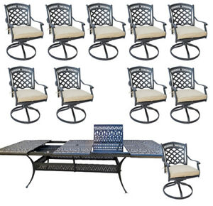 11-piece-outdoor-dining-set-cast-aluminum-powder-coated-132-extension-table