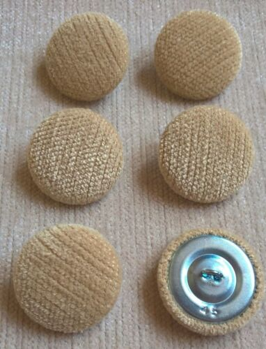 Chenille Velvet 45L//28mm Straw Upholstery Fabric Covered Buttons