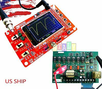"""Fully Assembled DSO138 2.4"""" TFT Digital Oscilloscope (1Msps) with One FREE Probe"""