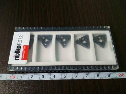 NIKKOTOOLS 16ER 150 ISO-TPM JP5125 5 PCS Threaded carbide inserts FREE SHIPPING