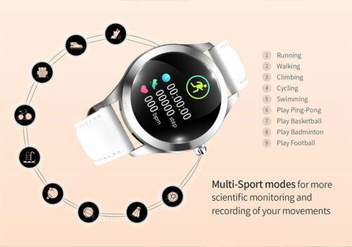 smartwatch montre intelligente femmes Bracelet moniteur de fréquence étanche