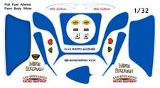 MIKE SULLIVAN FIAT MODIFIED FUEL ALTERED nhra 1/32nd Scale Slot Car Decals