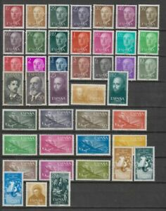 SPAIN-ESPANA-YEAR-1955-COMPLETE-WITH-ALL-THE-STAMPS-MNH