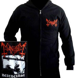Mayhem-Deathcrush-Hoodie-M-L-XL-Hooded-Sweatshirt-Offcial-Black-Metal-Band-Hoody
