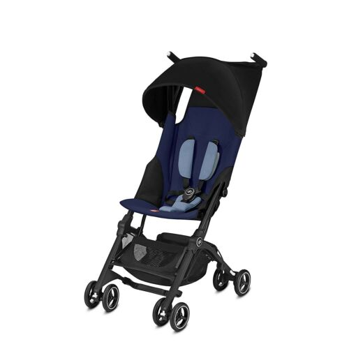 Goodbaby GB Pockit Plus Compact Stroller in Sapphire Blue NEW Free Shipping!!