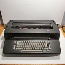 Ibm Selectric Correcting Electric Typewriter Vintage Black For Parts Repair