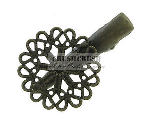 7pcs-Antique-Brass-Vintage-Style-Round-Filigree-Slide-Hair-Clips-Blanks-C126