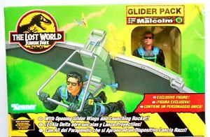 KENNER-THE-LOST-WORLD-JURASSIQUE-PARK-PLANEUR-PACK-MALCOM-1997