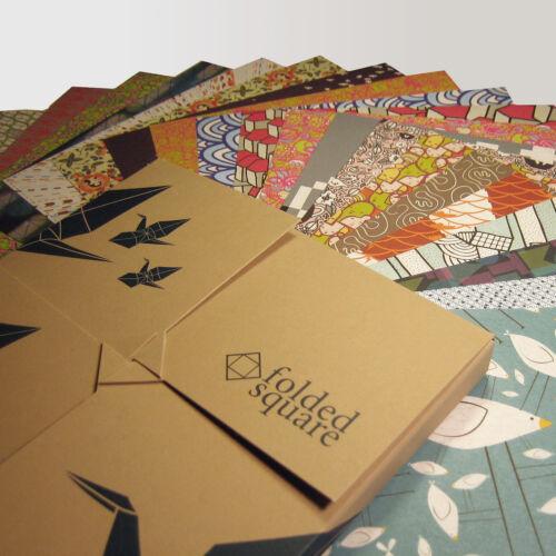 15 cm carrédesigner motifs collection complète Origami Paper200 feuilles