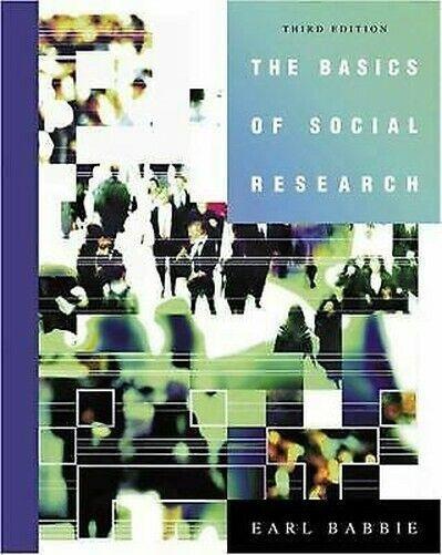 Basics Von Social Research Taschenbuch Earl Robert Babbie
