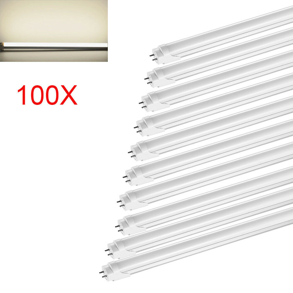 100x 150cm t8 Tube neutral blanco LED tubo fluorescente fluorescente fluorescente lámpara fluorescente tubos lámpara dd7974