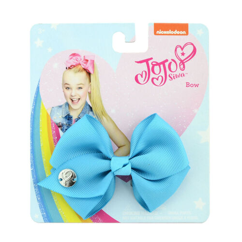 jojo 9cm Girls Kids Rainbow Hair Bow With Alligator Clip Gifts Bowknot