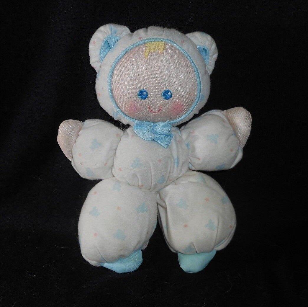 Vintage 1992 kiddicraft Fisher Price Sueño bebés muñeco de peluche animales peluche