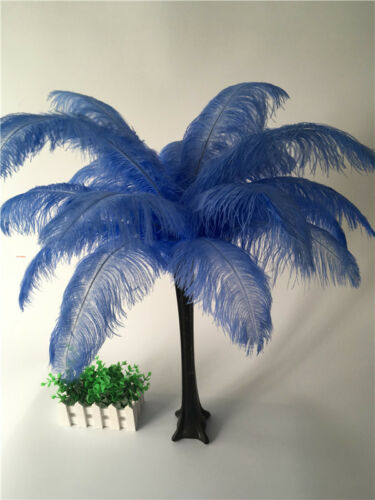 10-100pcs 16 colors ostrich feathers 6-30inch//15-75cm carnival Diy costume mask