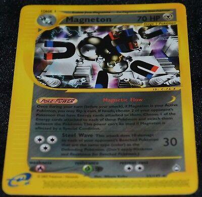 2003 Aquapolis 22//147 Magneton Rare Pokemon