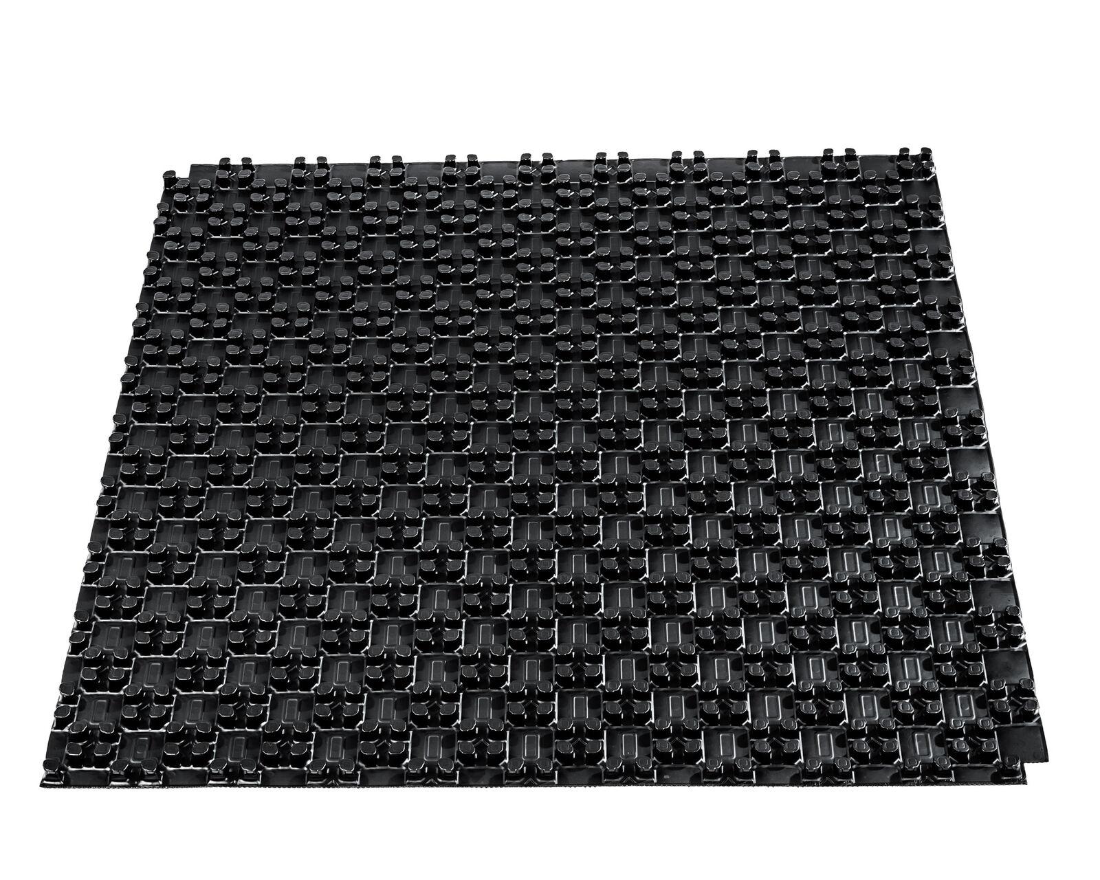 20 m² Rohrträger-/Noppenplatte / Noppenelement ohne Dämmung