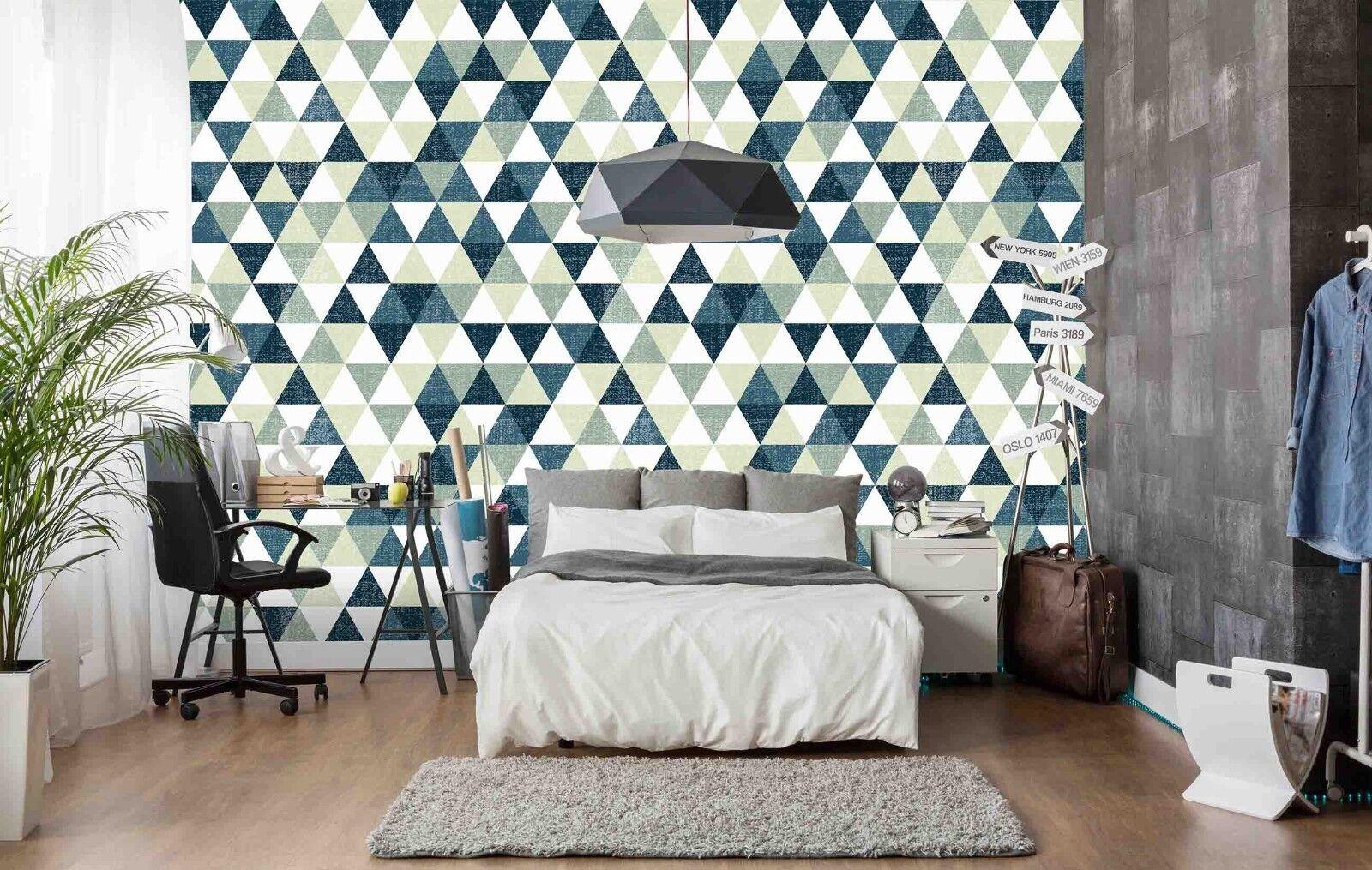 3D Diamond Farbeful 742 Wallpaper Mural Paper Wall Print Indoor Murals CA Summer