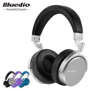 Bluedio-Vinyl-Bluetooth-Kopfhoerer-Stereo-Sound-mit-Mikrofon-On-Ear-Headsets