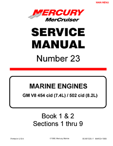mercruiser service manual 23