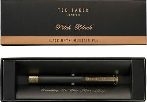 Ted-Baker-London-Black-Onyx-Fountain-Pen-Pitch-Black
