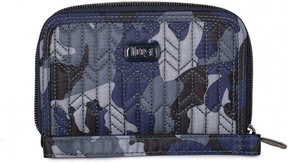 [RFID Blocking] Lug Women's Rodeo Travel Wallet - One Size Color: CAMO NAVY