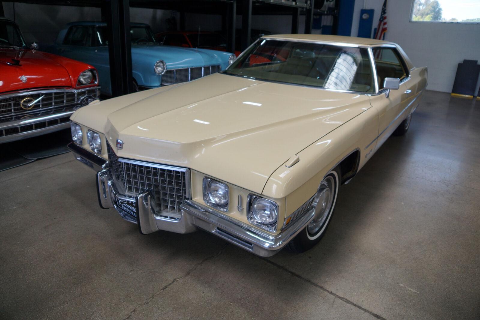 1971 Cadillac DeVille 2 Dr 472/345HP V8 Hardtop