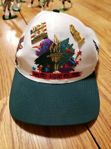 Vintage-1996-Olympics-Summer-Games-Snapback-Hat-with-4-pins-The-Game