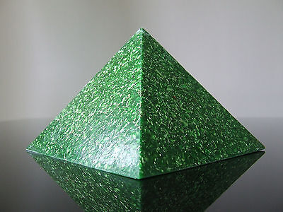 Orgone Wealth Money Abundance Luck Sucess 5xDT Quartz Large 120 x 90mm Pyramid