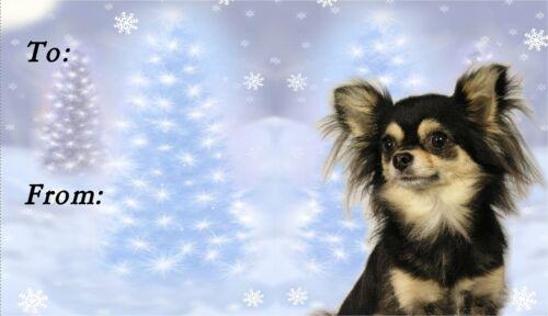 Chihuahua Christmas Labels by Starprint No 3