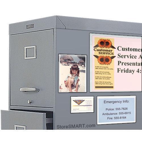 """StoreSMART Full-Back Magnetic Photo Frames 4/"""" x 6/"""" H32304-20"""