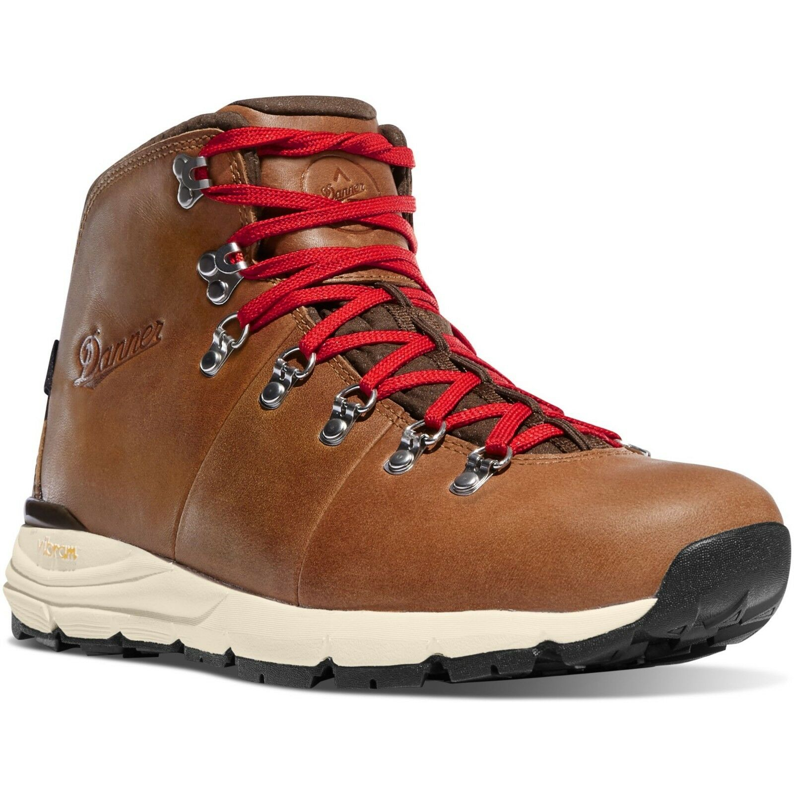 Danner Men's 62246 Outdoor Mountain 600 Saddle Tan 4.5  Leather WP Hiking stivali