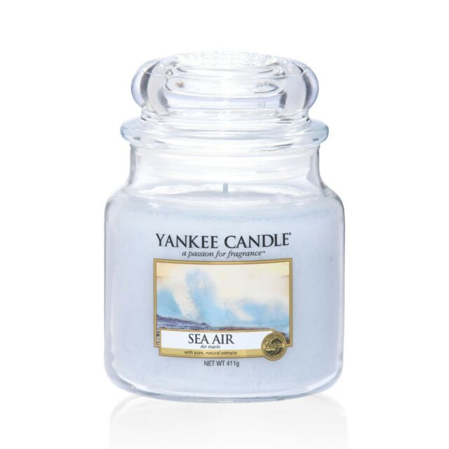 YANKEE CANDLE Mittlere Kerze SEA AIR 411 g Duftkerze