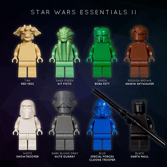 LEGO  estrella guerras ESSENTIALS II  [MONOFIGS]  in vendita