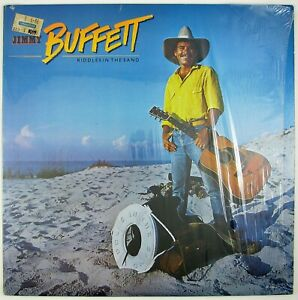 JIMMY-BUFFETT-Riddles-In-The-Sand-LP-1984-COUNTRY-ROCK-NM-NM