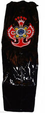 WWE Rey Mysterio Youth Size Faux Leather BLACK REPLICA PANTS