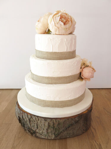 Natural HESSIAN Ribbon Jute Burlap Rustic Chic Wedding Vintage Craft Trim Cake