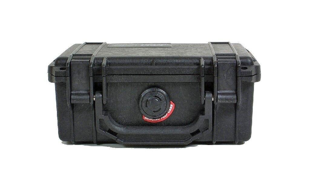 Peli Box Pelibox Pelicase '1120' schwarz, mit Schaumeinsatz