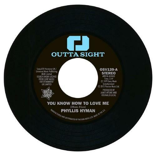 """PHYLLIS HYMAN You Know How To Love Me NEW NORTHERN SOUL 45 (OUTTA SIGHT) 7"""""""