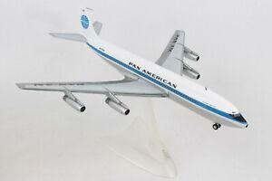 HERPA-HE556835-001-PAN-AMERICAN-707-320-1-200-SCALE-DIECAST-METAL-MODEL