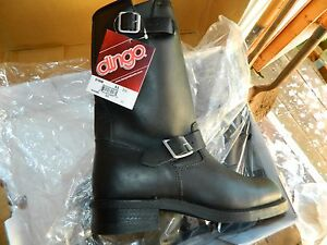 Leather Dingo Engineer Boots