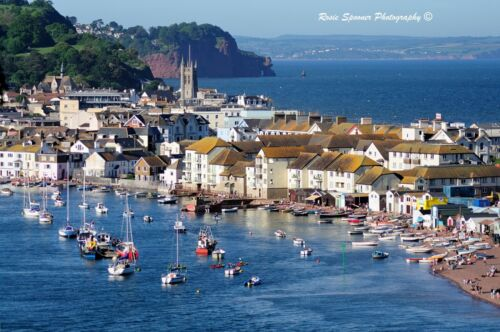 Teignmouth in South Devon jigsaw 1000 piece jigsaw Rosie Spooner Photography
